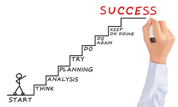 簡単なことで良いので達成できそうな目標を立てる