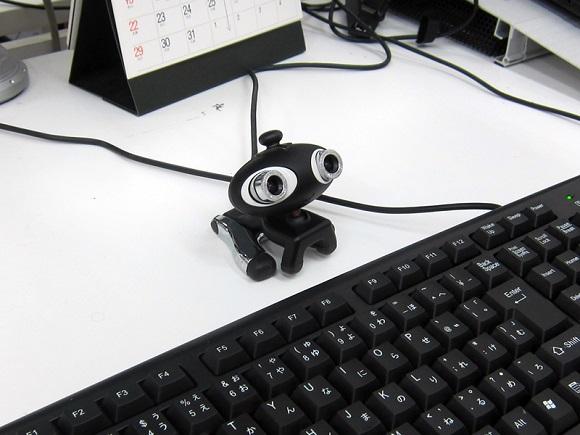卓上タイプのWebカメラ