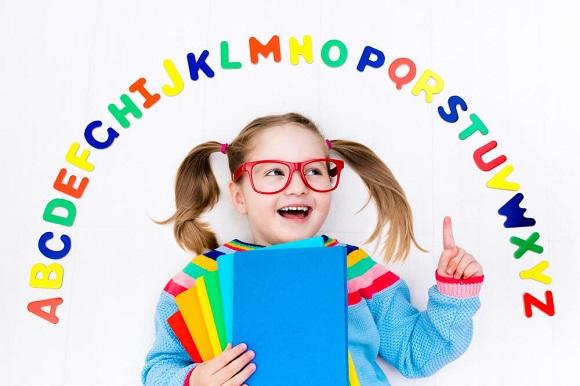 3種類の子供専用の教材で学習できる