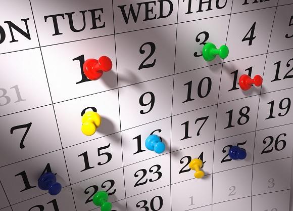 カレンダー.