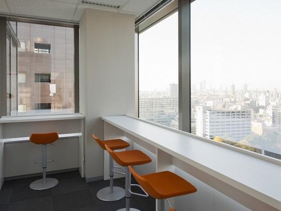 職場の休憩スペース
