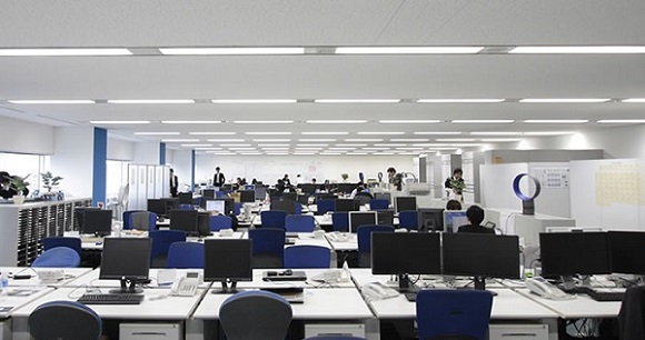 オンライン英会話のオフィス