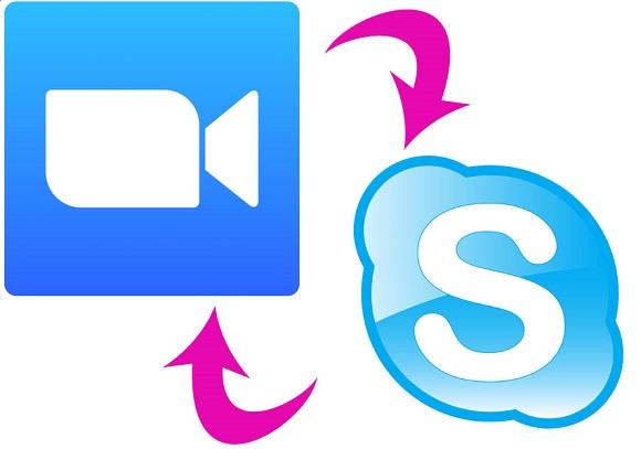 SkypeとZOOM